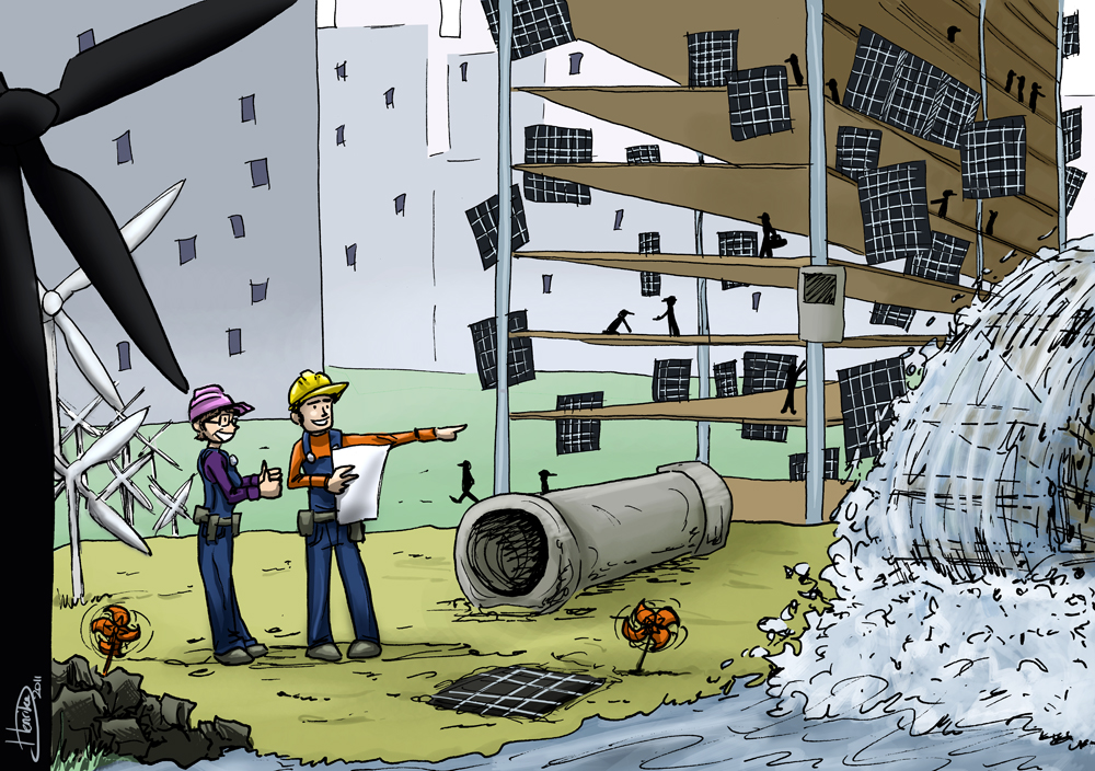 The durable building site