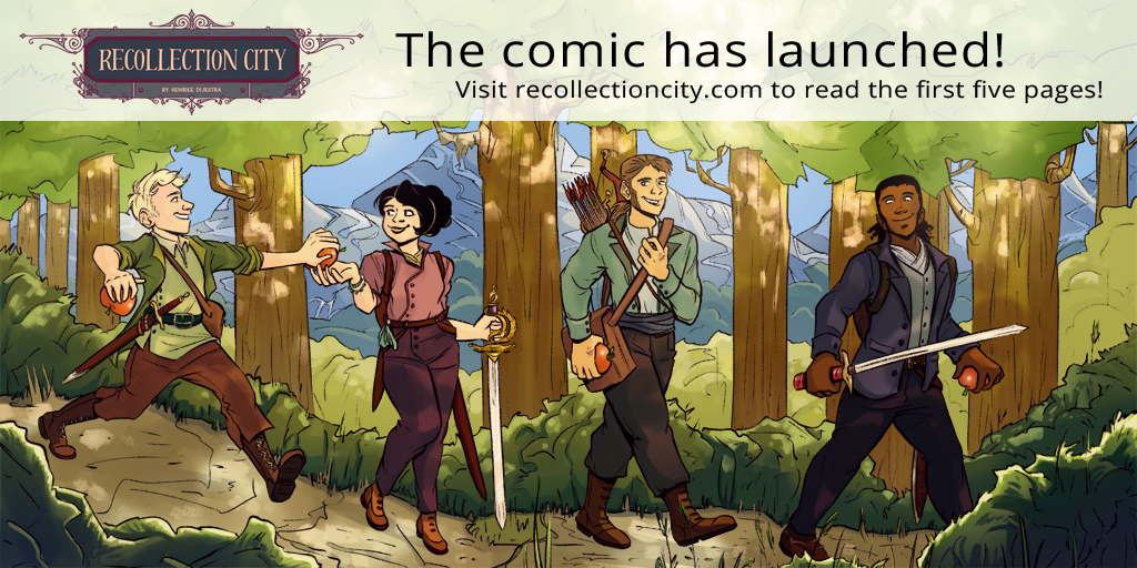 From art block to comic launch