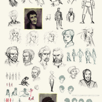 Recollection City character design
