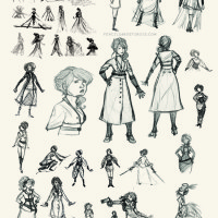 Recollection City costume design