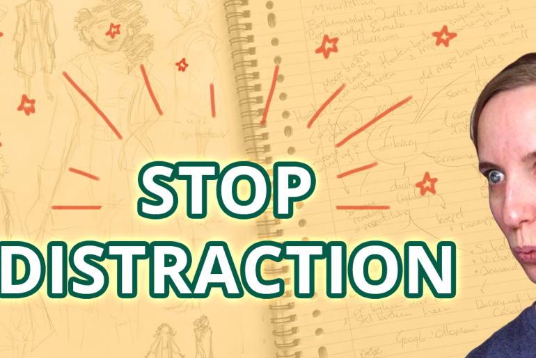 How not to get distracted by other comic ideas thumbnail