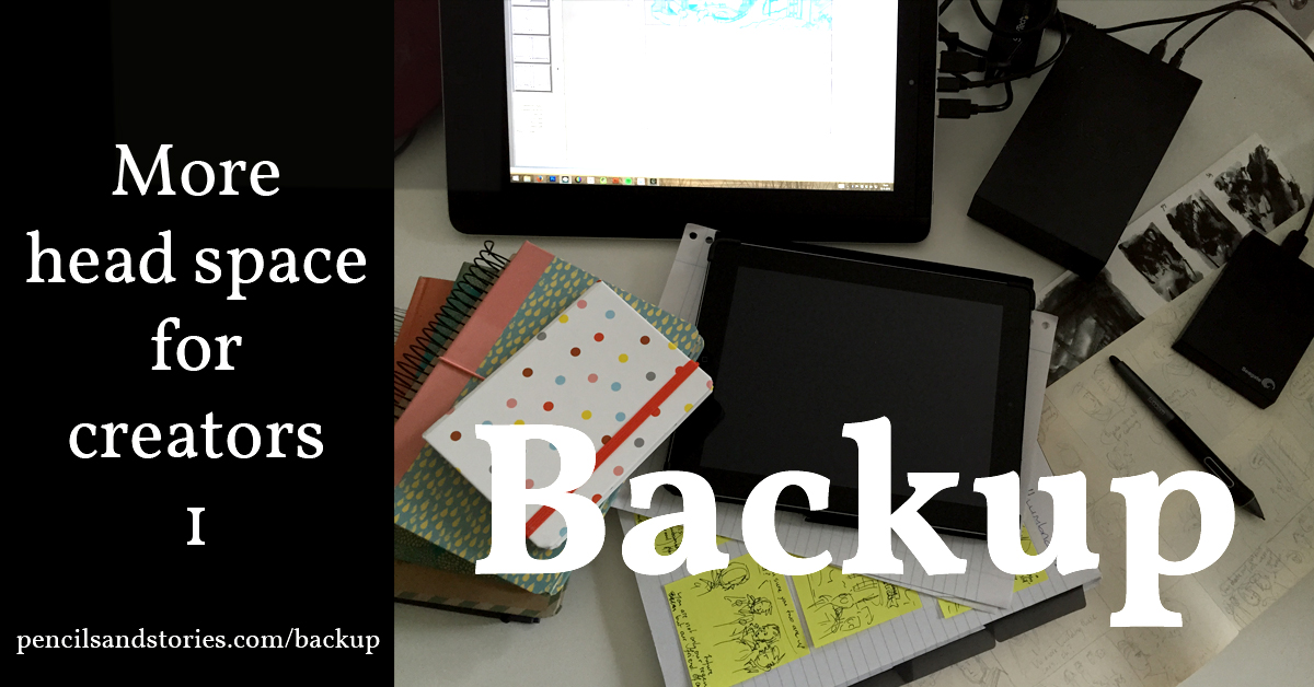 More head space for creators - Backup