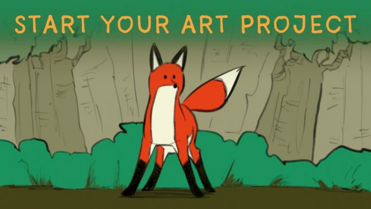 Start your art project