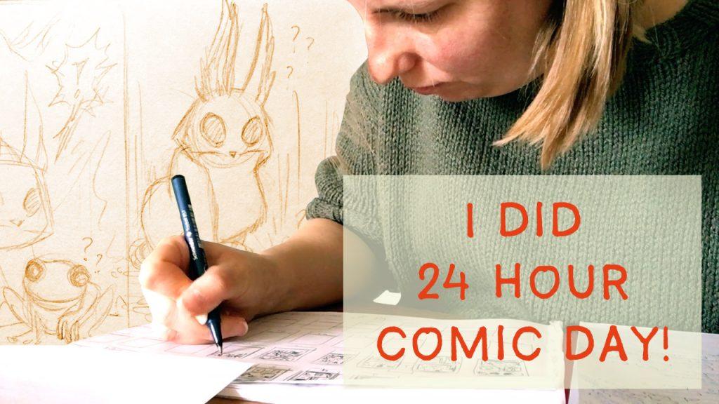 24 hour comic thumbnail