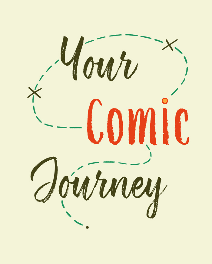 Your Comic Journey course logo