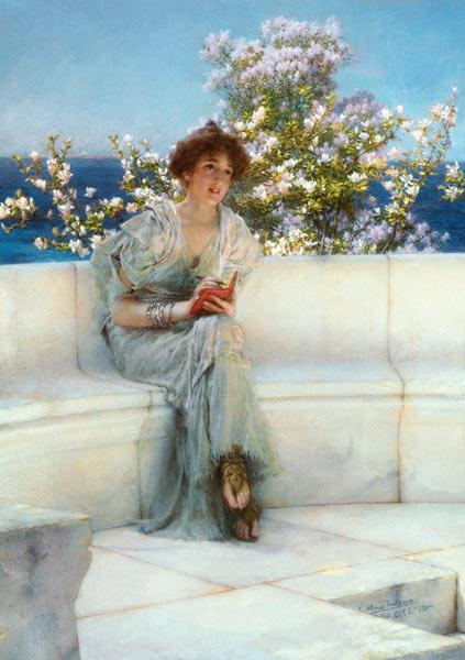 The year's at the Spring / All's well with the world by Sir Lawrence Alma Tadema