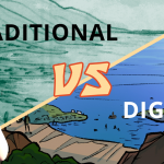 Making webcomics: Traditional vs digital